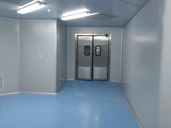 宜昌燕沙酒店中央厨房净化间和冷库二期已完成